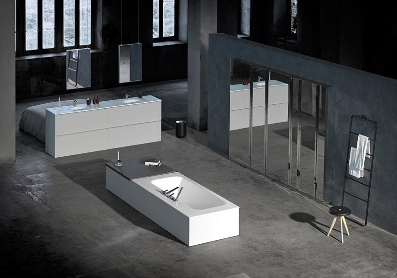 baños modernos de hoteles en barcelona, tonobagno