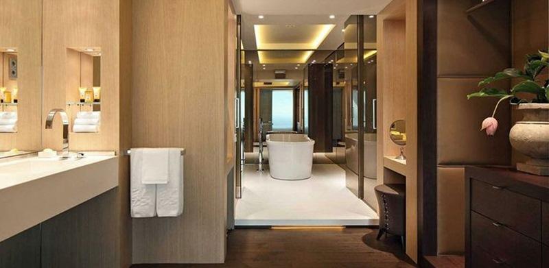 baños hotel arts barcelona, tono bagno