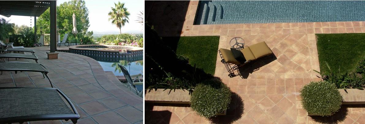 Suelos rusticos para ba os y cocinas barcelona tono bagno for Precio de baldosas para patio