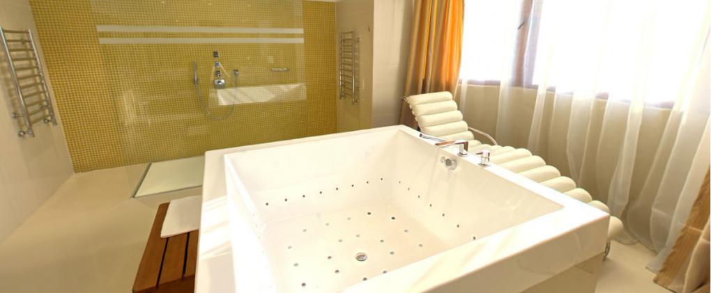 proyecto baño hotel