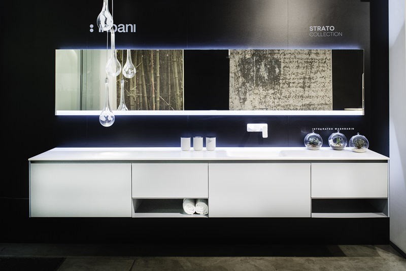 Diseño de baños modernos. Cuarto baño estetico funcional