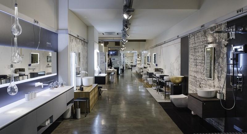 diseño de baños modernos barcelona, tono bagno