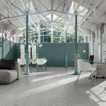 suelos y paredes de terrazo - artwork de Casamood