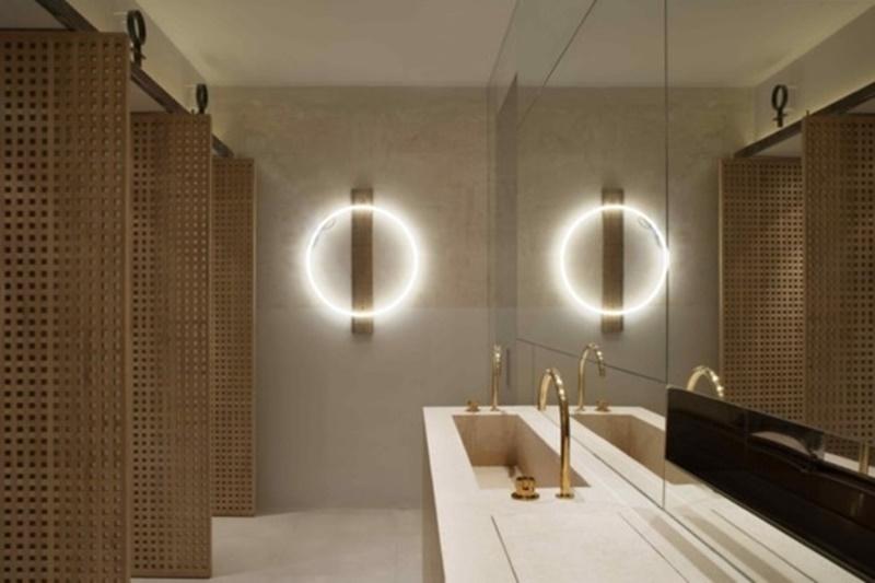 espejos para cuartos de baño retaurantes