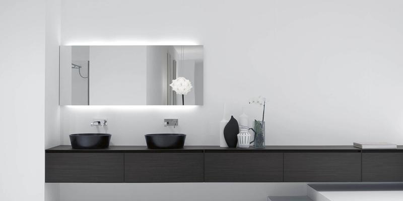 Espejos modernos para ba os actuales tono bagno - Espejos de banos modernos ...