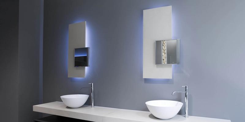 espejos iluminados para baños