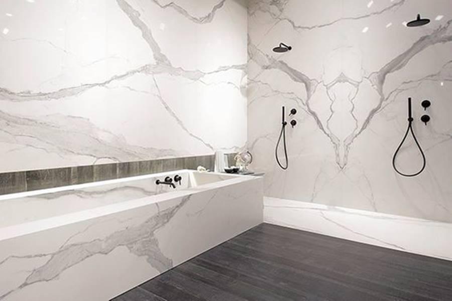 porcelanicos gran formato baños, revestimientos gran formato baños