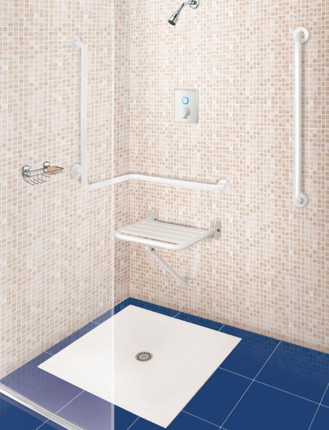 Lavabos y platos de ducha para minusvalidos tono bagno for Banos de asiento en bidet