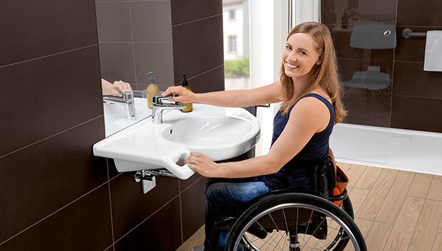 villeroy boch lavabos discapacitados