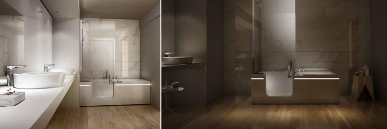 bañeras para minusvalidos