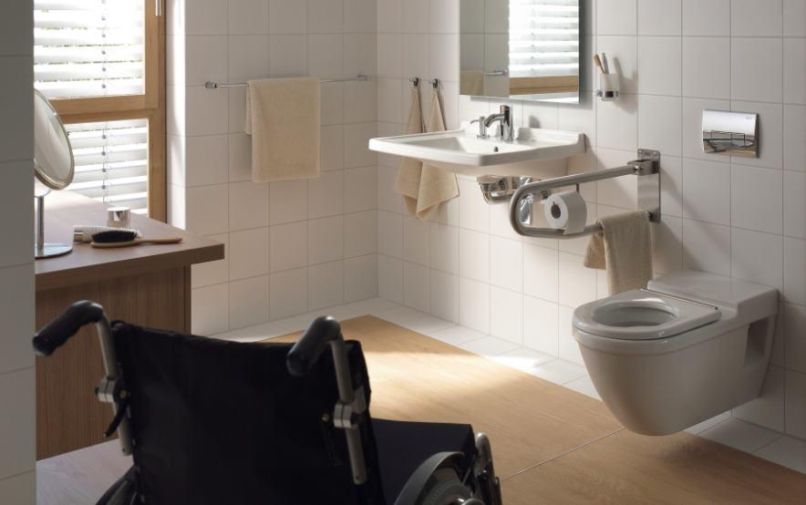 lavabos y platos de ducha para minusvalidos tono bagno