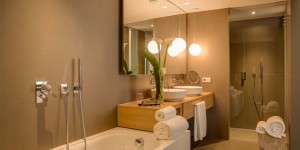 diseño baños hotel ohla barcelona
