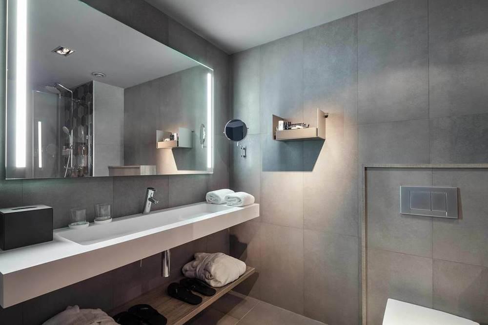 diseño de baños urbanos hoteles