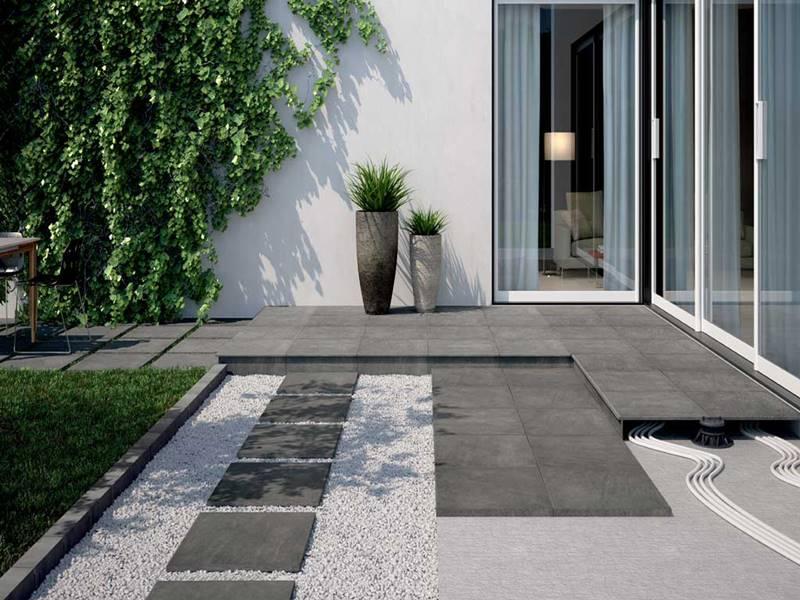 Suelos pavimentos elevados para exterior tono bagno - Suelo para exterior ...