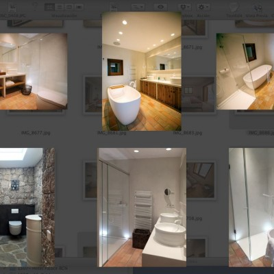Reforma de baños casa en Cala Mastella, Ibiza