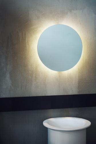 espejos de diseño para baños Agape