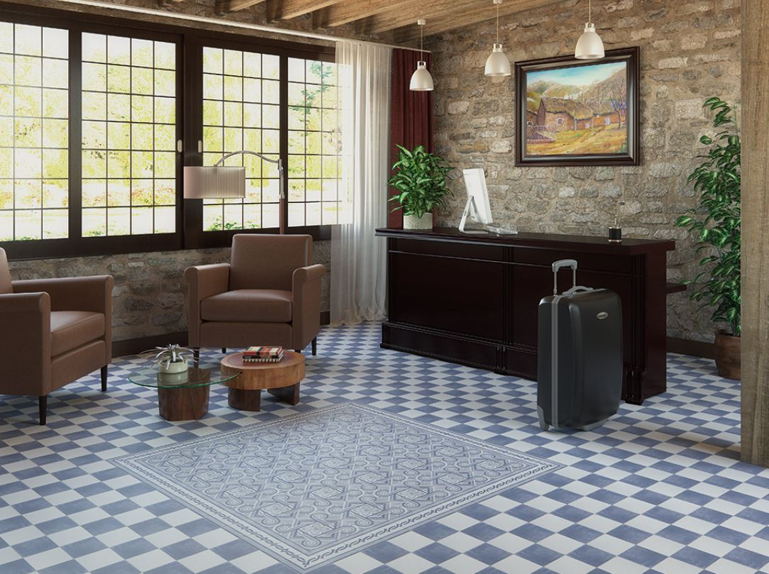 suelos porcelanicos imitacion hidraulicos, Cevica_Atelier