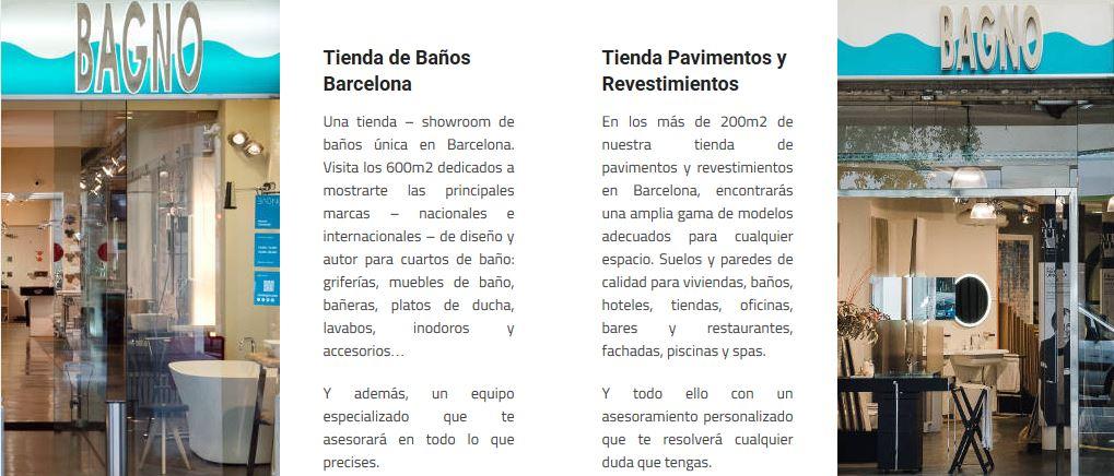 tiendas tono bagno barcelona