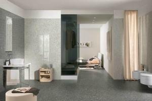 suelos y paredes de terrazo