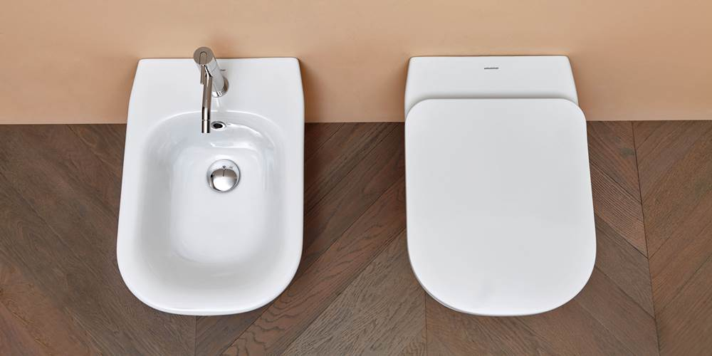 novedades baños modernos 2018, Sanitarios wc bide para baño Cabo de Antonio Lupi