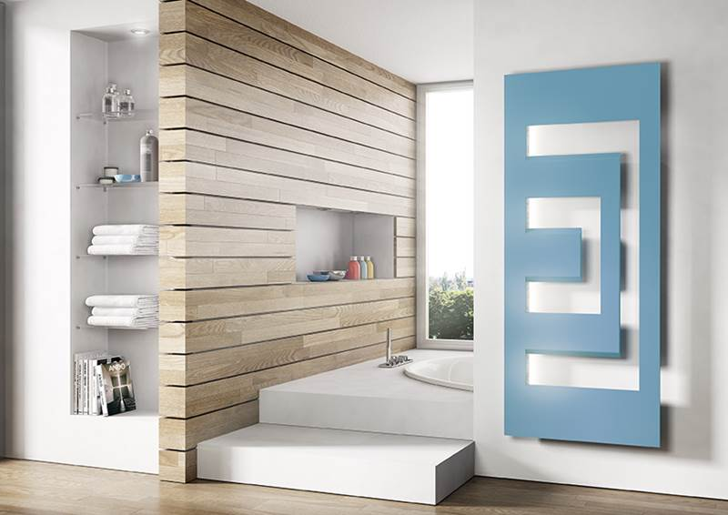 novedades baños modernos 2018, radiador toallero dedalo Irsap