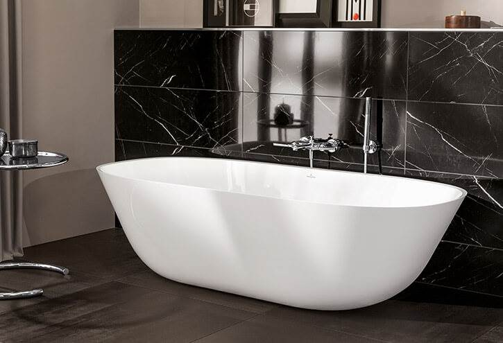 novedades baños modernos 2018, Bañera THEANO – VILLEROY & BOCH