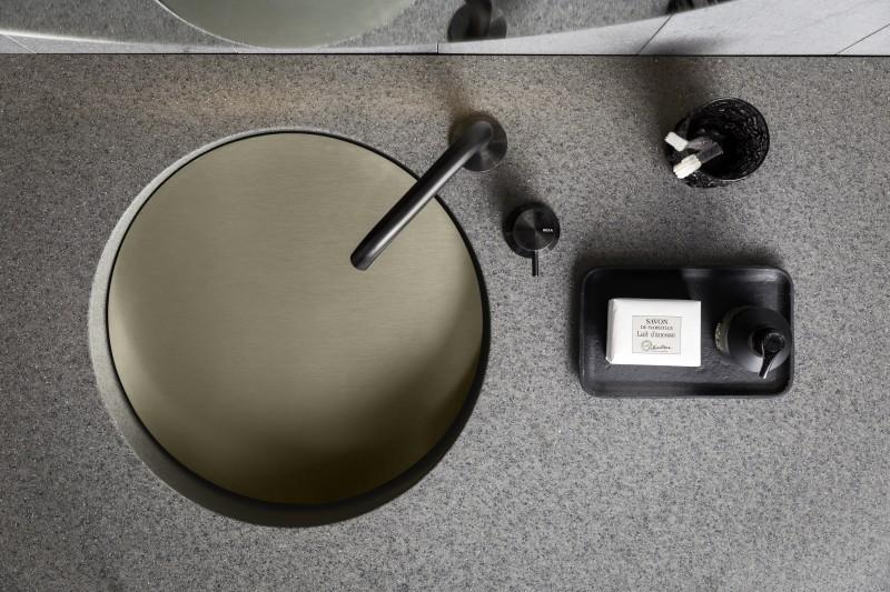 novedades baños modernos 2018, lavabo slope Rexa design