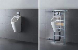 pulsadores bastidores para baño