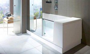 bañera ducha duravit