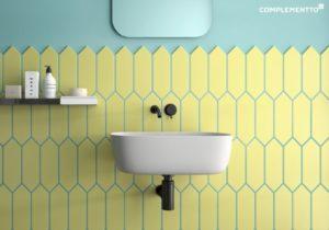 juntas de colores baño