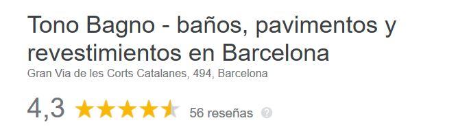 mejores tiendas de baños barcelona