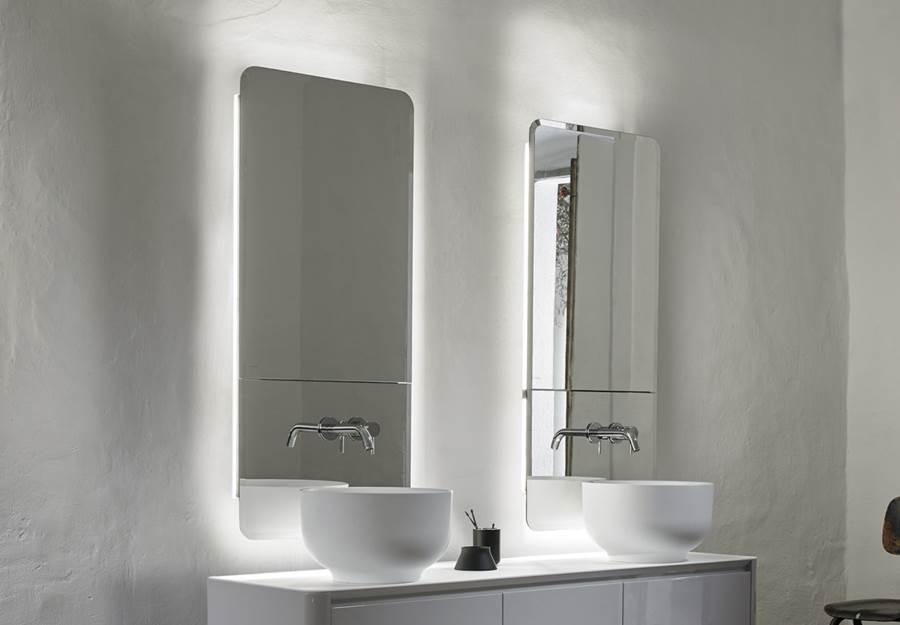 novedades espejos baño 2019, Espejos Camerino