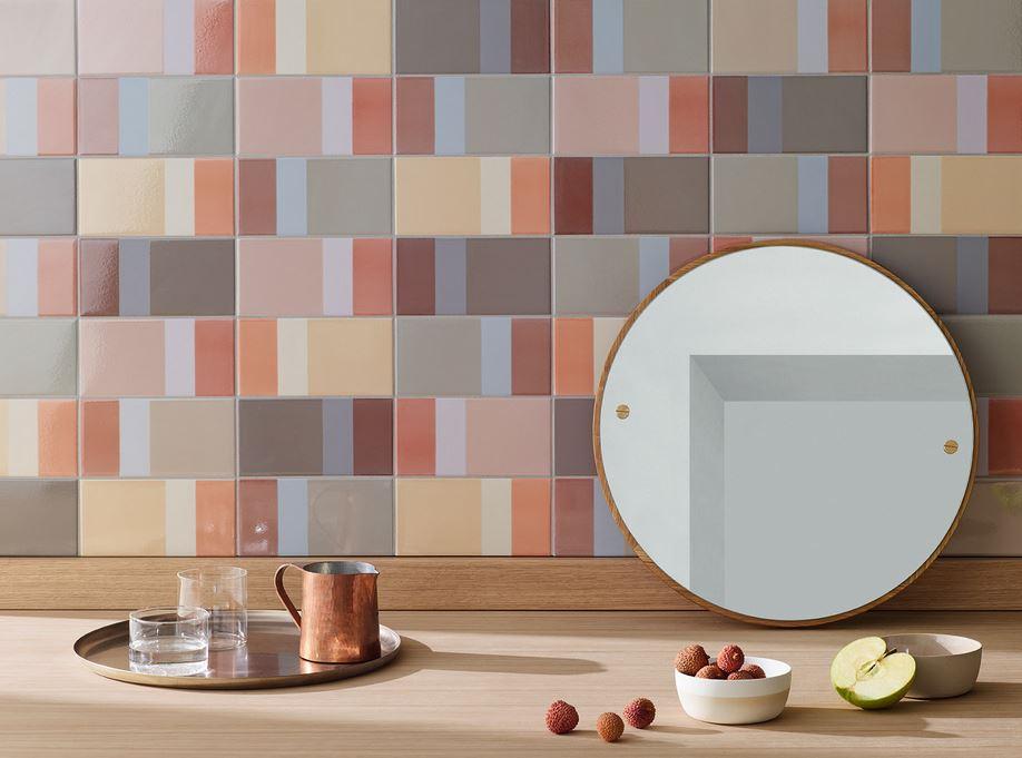 azulejos modernos de alta gama para baños y paredes. Diarama Mutina