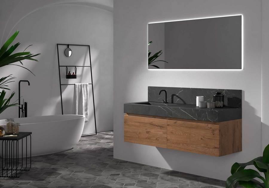 Espejos para baño, tendencias baños 2019