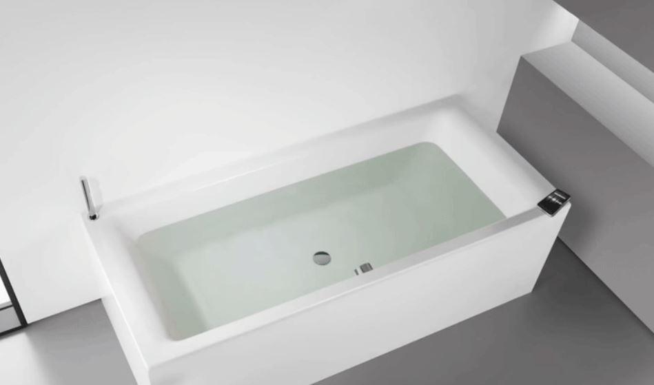 tendencias para baños 2019, bañera soundwave kaldewei