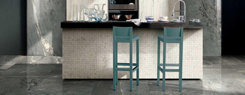 azulejos para cocinas - porcelanicos gran formato para cocinas