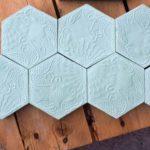 Mosaico hexagonal Barcelona