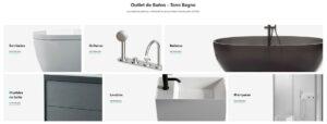 outlet de baños online, ofertas baños online, baños baratos online