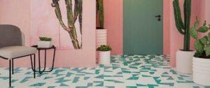 pavimento color baño