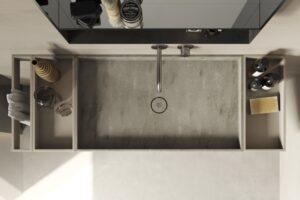 novedades baños 2020, mobiliario compacto rexa dsign