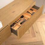 mueble baño madera
