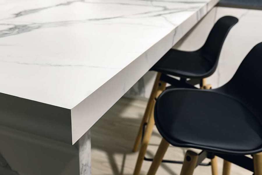 encimeras mesa porcelanico, novedades pavimentos y revestimientos, novedades encimeras cocina