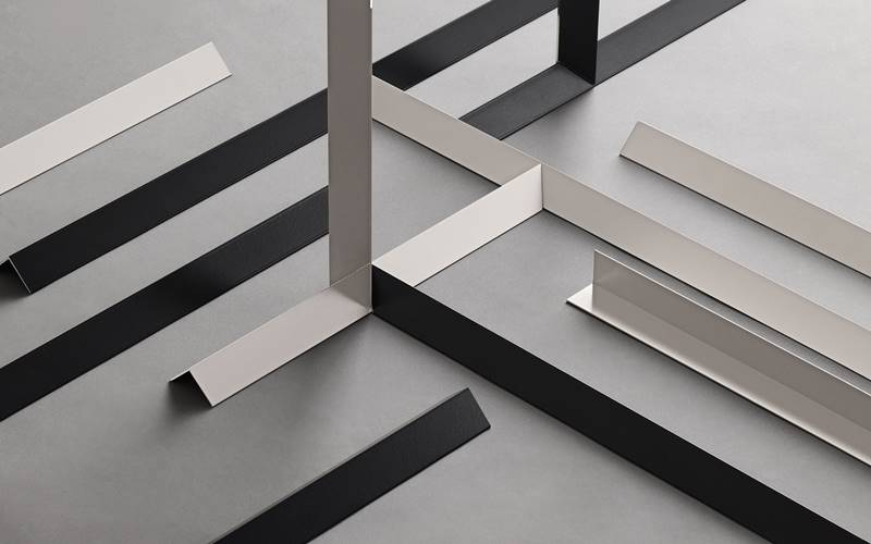 acabados metal paredes suelos, novedades pavimentos y revestimientos, novedades mutina