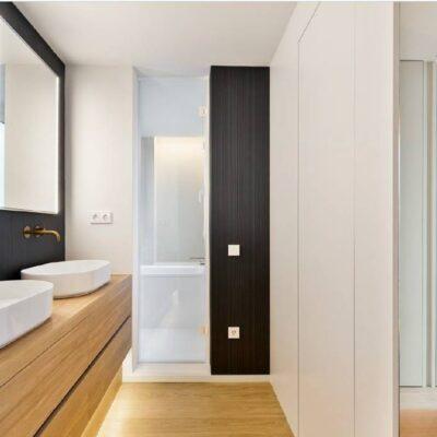 Reforma de los baños de un ático en Barcelona