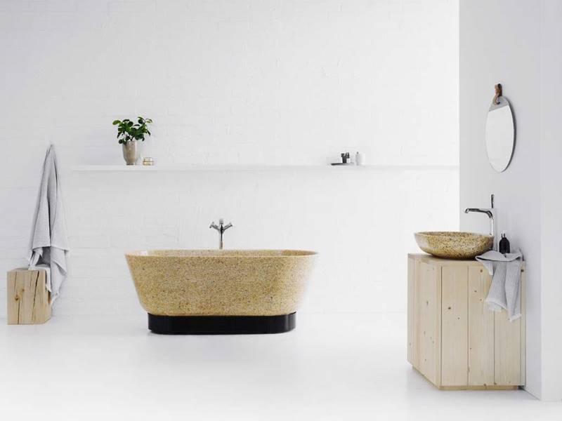 lavabos madera woodio