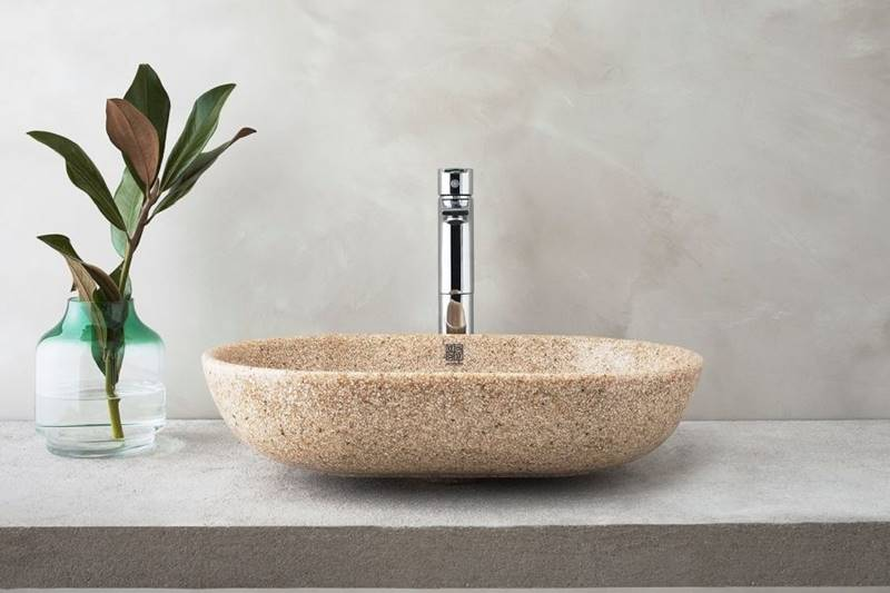 lavabos madera woodio, novedades lavabos 2021, novedades baños 2021