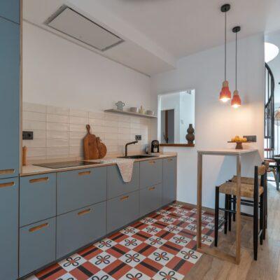 Reforma de un apartamento turístico en Málaga